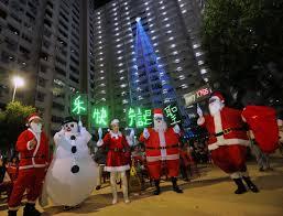 17 storey tall u0027christmas tree u0027 lights up in holland avenue