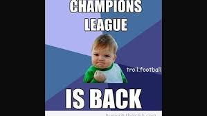 Memes De La Chions League - memes por la vuelta de la chions league con los octavos de