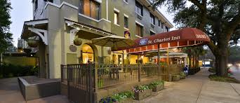 Map Of Hotels In New Orleans by New Orleans Hotel Best Western Plus St Charles Inn Garden