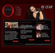 free templates css templates music dj club