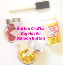 button crafts diy air balloon button