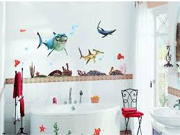 cartoon sea animals wall sticker for kids rooms living room home you can design own beauty wall sticker