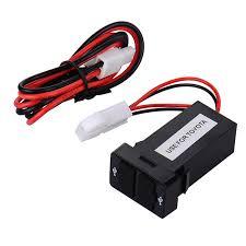 porta usb per auto auto auto 2 1a doppia porta usb charger dashboard mount per il