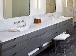 Bathroom Vanity Gray by 21 Bathroom Vanities And Storage Ideas