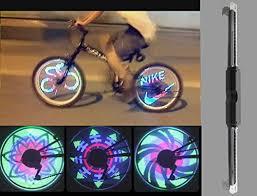 Monkey Bike Lights Pesp Waterproof 36 Led Colorful Rgb 32 Pattern Bicycle Bike Wheel