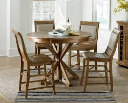 Pine Dining Room Sets Distressed Pine Round Dining Table