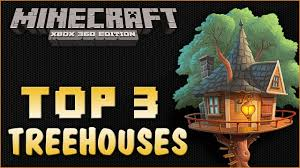 minecraft xbox 360 amazing tree house builds tree house build