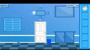 bluish escape level 24 walkthrough youtube