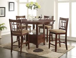 elegant dining room set charming solid dining table set cherry diningle wood india chairs