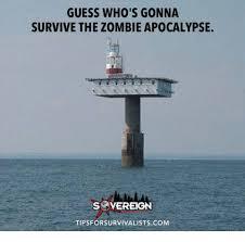 Zombie Apocalypse Meme - guess who s gonna survive the zombie apocalypse s vereign