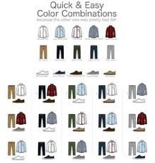 for clothes men s guide to pant shirt combination infographics