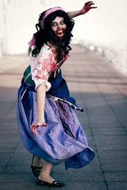 zombie cinderella tutorial your favorite disney characters as gruesome zombies through cosplay