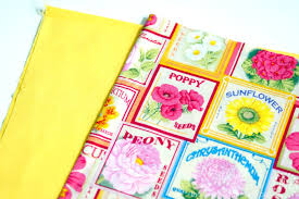 flower seed packets seed packet lavender sachets the scrap shoppe