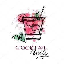 party invitation affiche u2014 image vectorielle 85190794