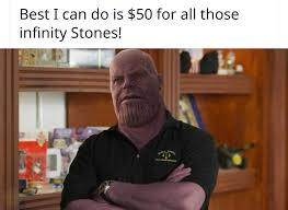 Pawn Shop Meme - i m thanos harrison and this is my pawn shop thanos edits know