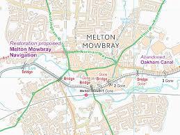 Navigation Map Melton Mowbray Navigation Maps U2013 Waterway Routes