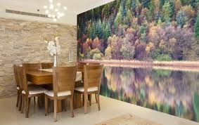 dining room murals wall mural inspiration for dining rooms wallsauce