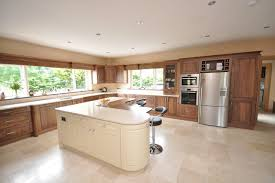walnut kitchen ideas custom walnut kitchen modern kitchen dublin by woodale