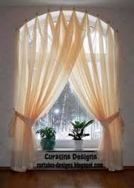 Curtains For Windows With Arches Arched Windows Curtains On The Hooks Arched Windows Treatmentes