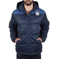 oxbow thomas doudoune capuche imprimee men winter jacket charcoal