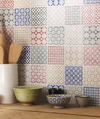 Blue Tile Kitchen Backsplash Top 15 Patchwork Tile Backsplash Designs For Kitchen