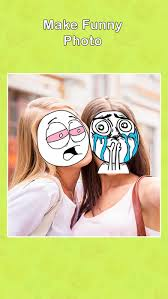 Meme Face Picture Editor - insta meme photo editor create funny meme rage with troll face