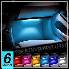 Car Interior Leds Thunder 4pcs Dc 12v Car Interior Led Light Underdash Lighting Kit