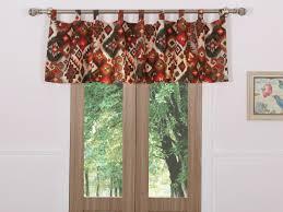 folk festival rustic window valance gl 1509cwv window treatments