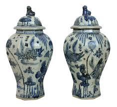 Antique Chinese Vases For Sale Antique Chinese Vases Set Of 2 For Sale At Pamono