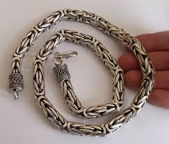 byzantine necklace images 10mm silver byzantine necklaces jpg