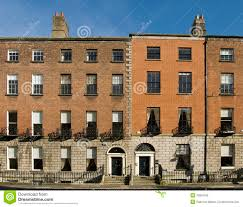 Georgian Architecture Dublin Georgian Houses Royalty Free Stock Image Image 10924296