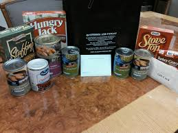 thanksgiving dinner bag drive patriots and paws