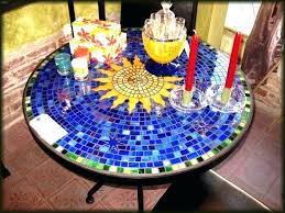 how to make a mosaic table top how to make a mosaic table medium size of patio furniture bistro
