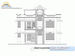 House Design Plans by Building Design Plan And Elevation 708 Dohile Com