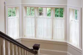 Half Window Curtains Interior Traditional Half Window Curtains Interior For