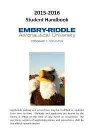 2015 2016 embry riddle student handbook by jlong03 issuu