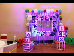 paper craft decoration birthday party youtube