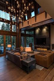 modern home interior ideas houses rustic contemporary design best