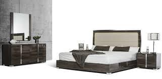 Bedroom Furniture San Francisco San Francisco 5pcs Modern Grey Bedroom Set