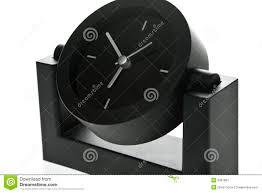 Modern Desk Clock Stylish Modern Office Desk Clock Stock Image Image Of