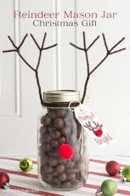 reindeer christmas mason jar gift idea mason jar christmas gifts