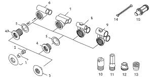 Bathtub Jet Covers Tub Spa Replacement Jet Parts Gg Industries Standard Mini