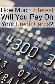 Formula Credit Card Minimum Payment Credit Card Interest Calculator How Much Interest Will I Pay
