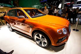 orange bentley bentayga 2015 bentley bentayga