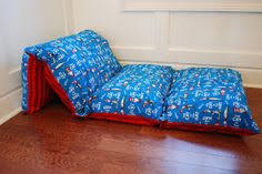 pillow bed for kids diy pillow bed fold a twin sheet in half long ways then sew 4 5