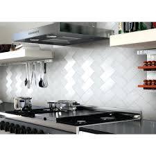 stick on subway tile backsplash peel and stick kitchen adhesive