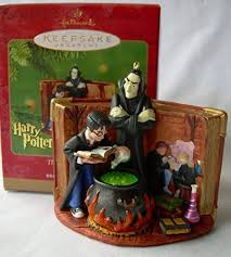 harry potter ornament collecting