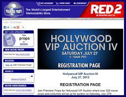 premiere props u0027hollywood vip auction iv u0027 catalog online
