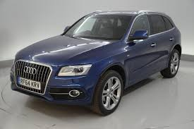 Audi Q5 Blue - used audi q5 s line plus blue cars for sale motors co uk