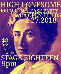 party in my bedroom high lonesome album release party set for jan 27 fayetteville flyer